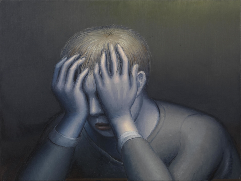 Michael Kirkham, Weeping Man, 2010 low res